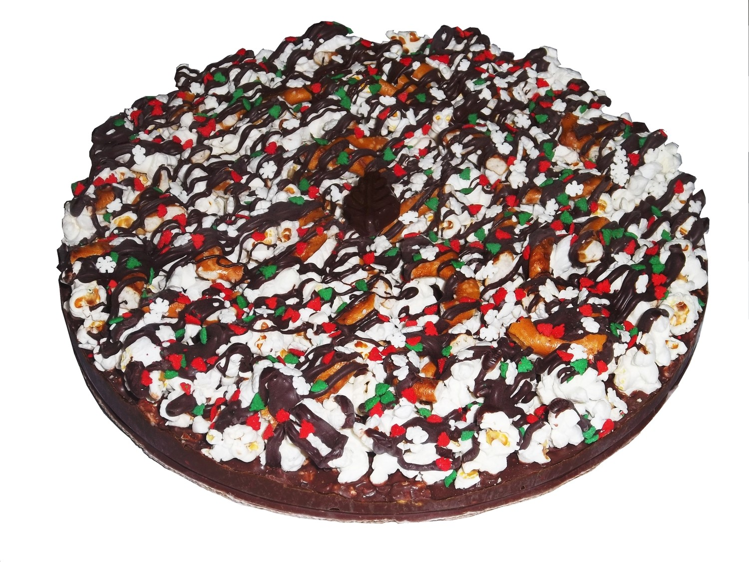 Gourmet Dark Mint Chocolate Pizza with Pizazz™ 10