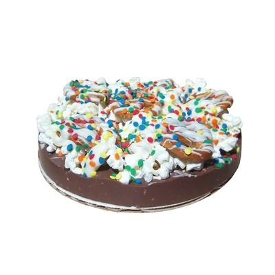 Gourmet Chocolate Pizza with Pizazz ( 6
