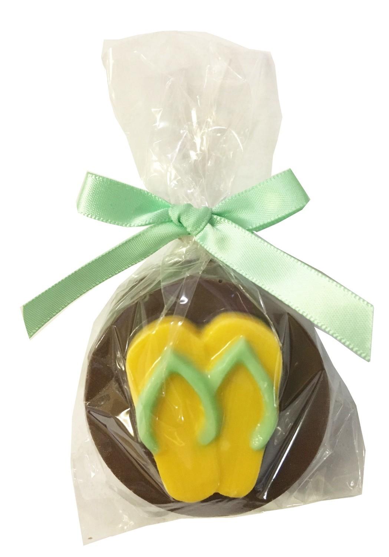 Gourmet Chocolate Molded Oreos® (Flip Flops)