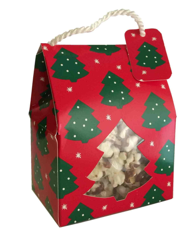 Gourmet Chocolate Drizzled Popcorn (1.5 oz Rope Box)