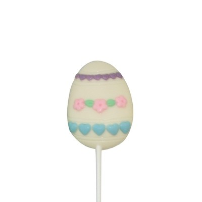 Chocolate Lollipops - Pollylops® - Painted Egg