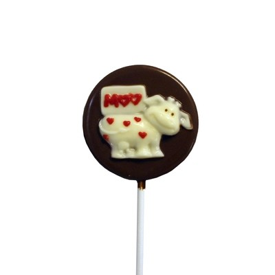 Chocolate Lollipops (Pollylops® Moo Cow)