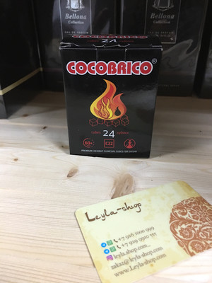 Кокосовый уголь для бахура Cocobrico
