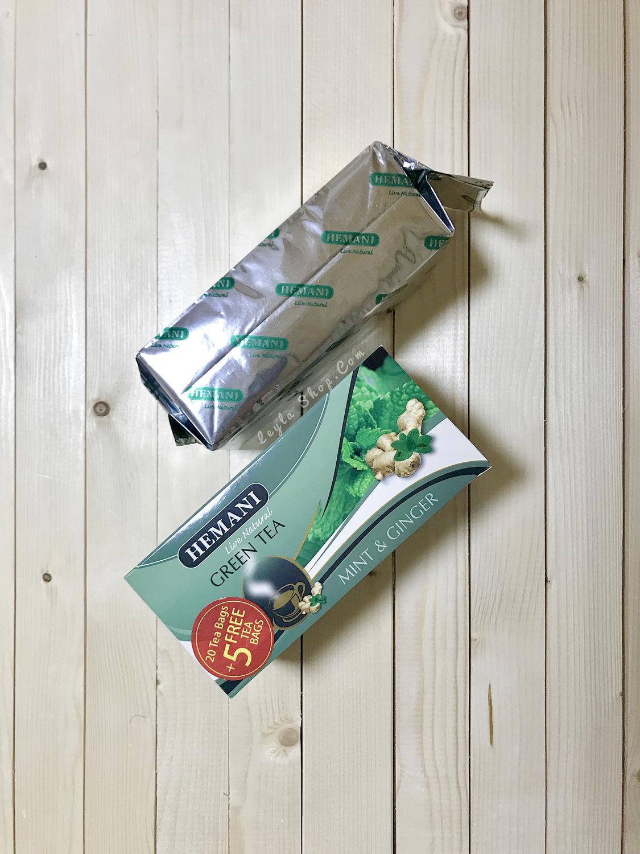 Чай Green Tea Mint & GinGer Hemani