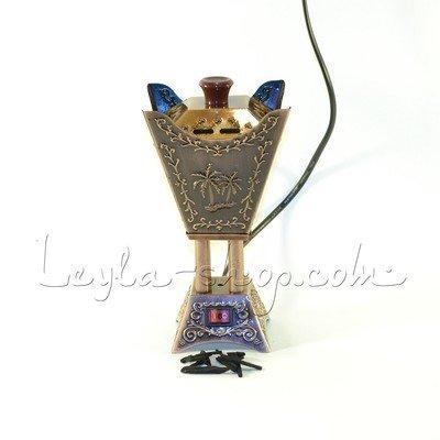 Бахурница электрическая Пальма (бронза)