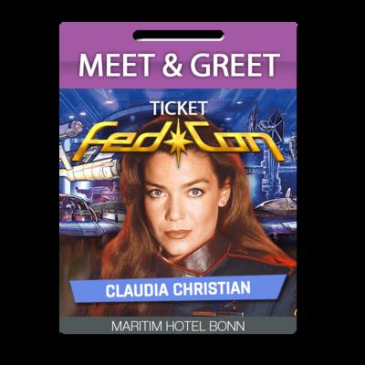 Meet & Greet - Claudia Christian