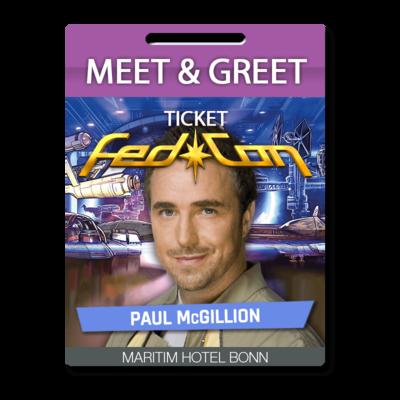 Meet & Greet - Paul McGillion