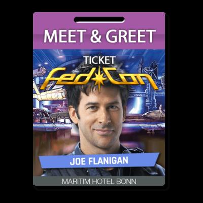 Meet & Greet - Joe Flanigan