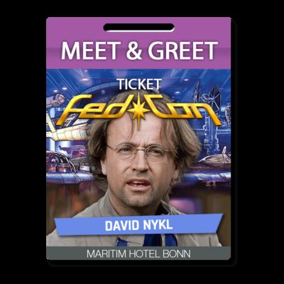 Meet & Greet - David Nykl