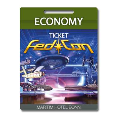 FedCon Economy-Ticket