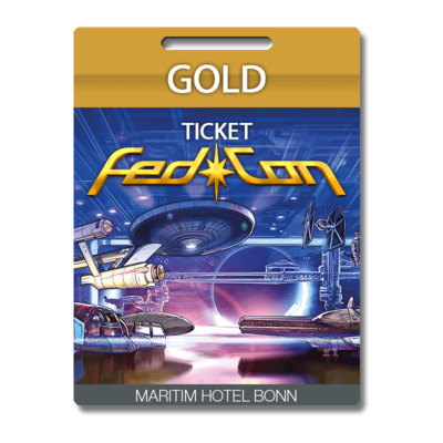 FedCon Gold-Ticket