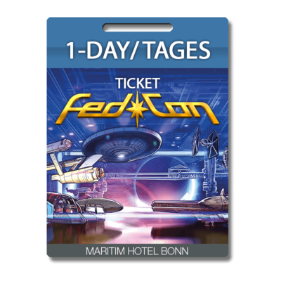 FedCon 29 Tages-/Day-Ticket