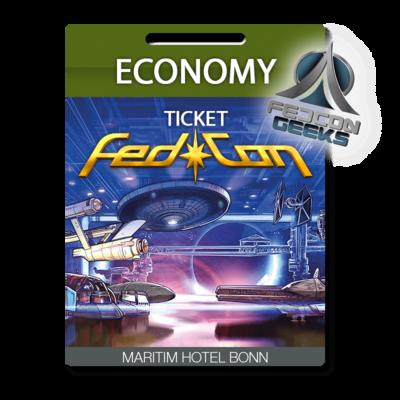 FedCon Economy-Ticket GEEK