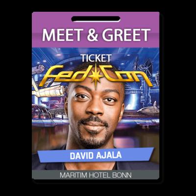 Meet & Greet - David Ajala
