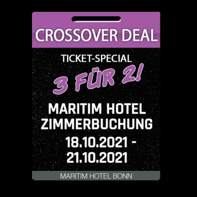 Maritim Hotel Bonn - Einzelzimmer / Single bedroom Crossover Deal