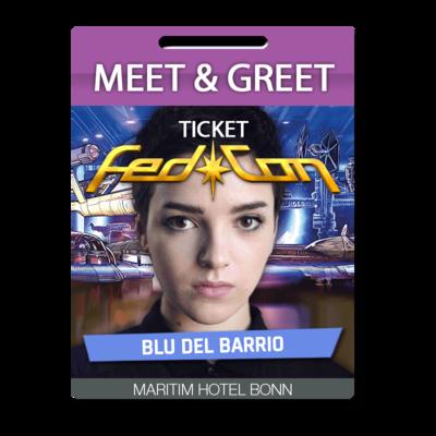 Meet & Greet - Blu del Barrio