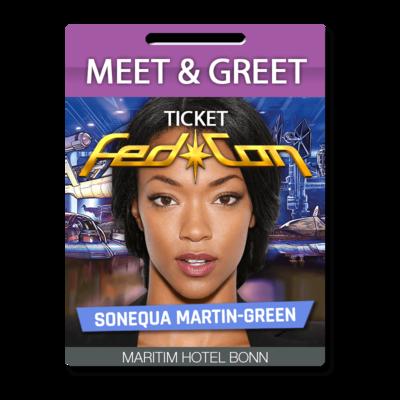 Meet & Greet - Sonequa Martin-Green