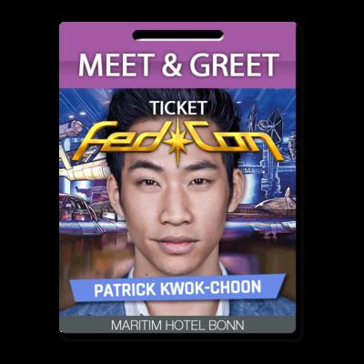 Meet & Greet - Patrick Kwok-Choon
