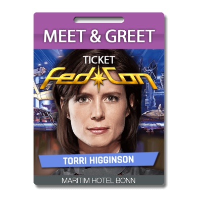 Meet & Greet - Torri Higginson