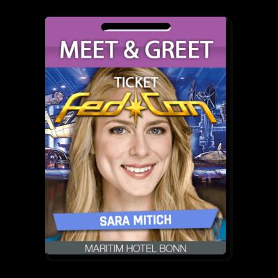 Meet & Greet - Sara Mitich