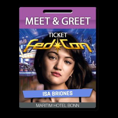 Meet & Greet - Isa Briones