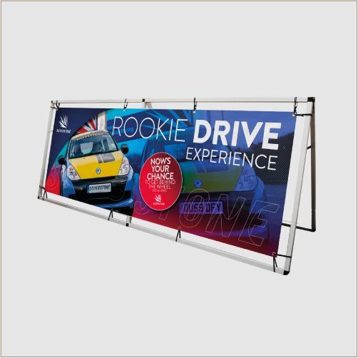 A-Frame Banner Stand