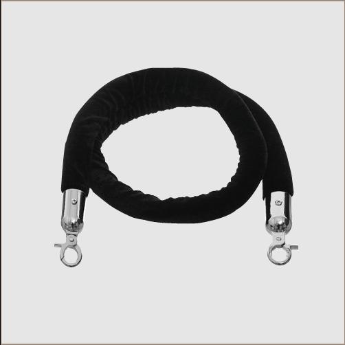 Velvet Rope (Chrome Clips) 1.5m