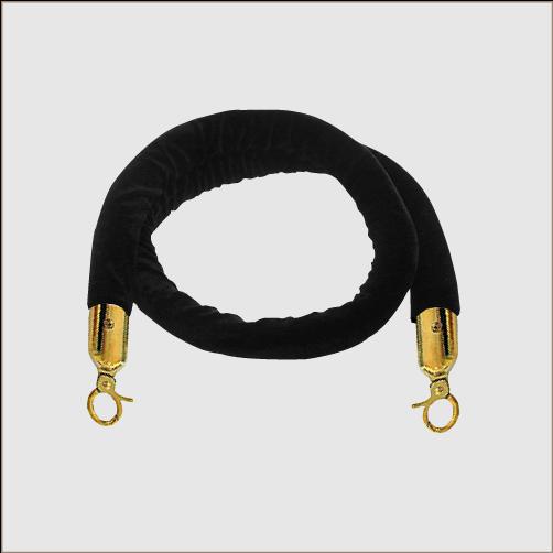 Velvet Rope (Brass Clips)1.5m