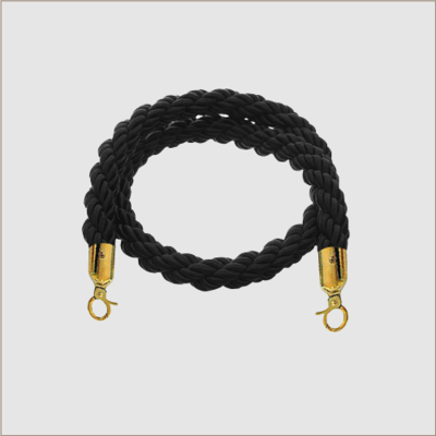 Braided Rope (Brass Clips)