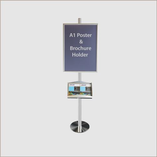 Eclipse Poster & Brochure Stand