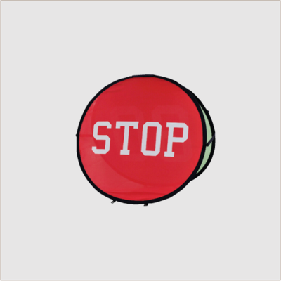 Round Pop- Out Banner
