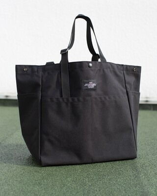 BIP CARRY-ALL BEACH BAG IN BLACK