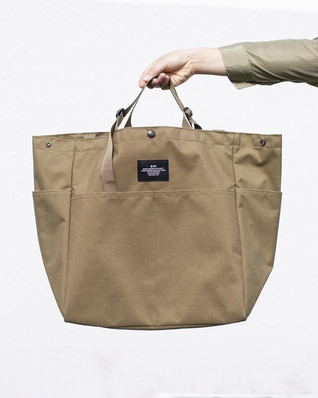 BIP CARRY-ALL BEACH BAG IN BEIGE