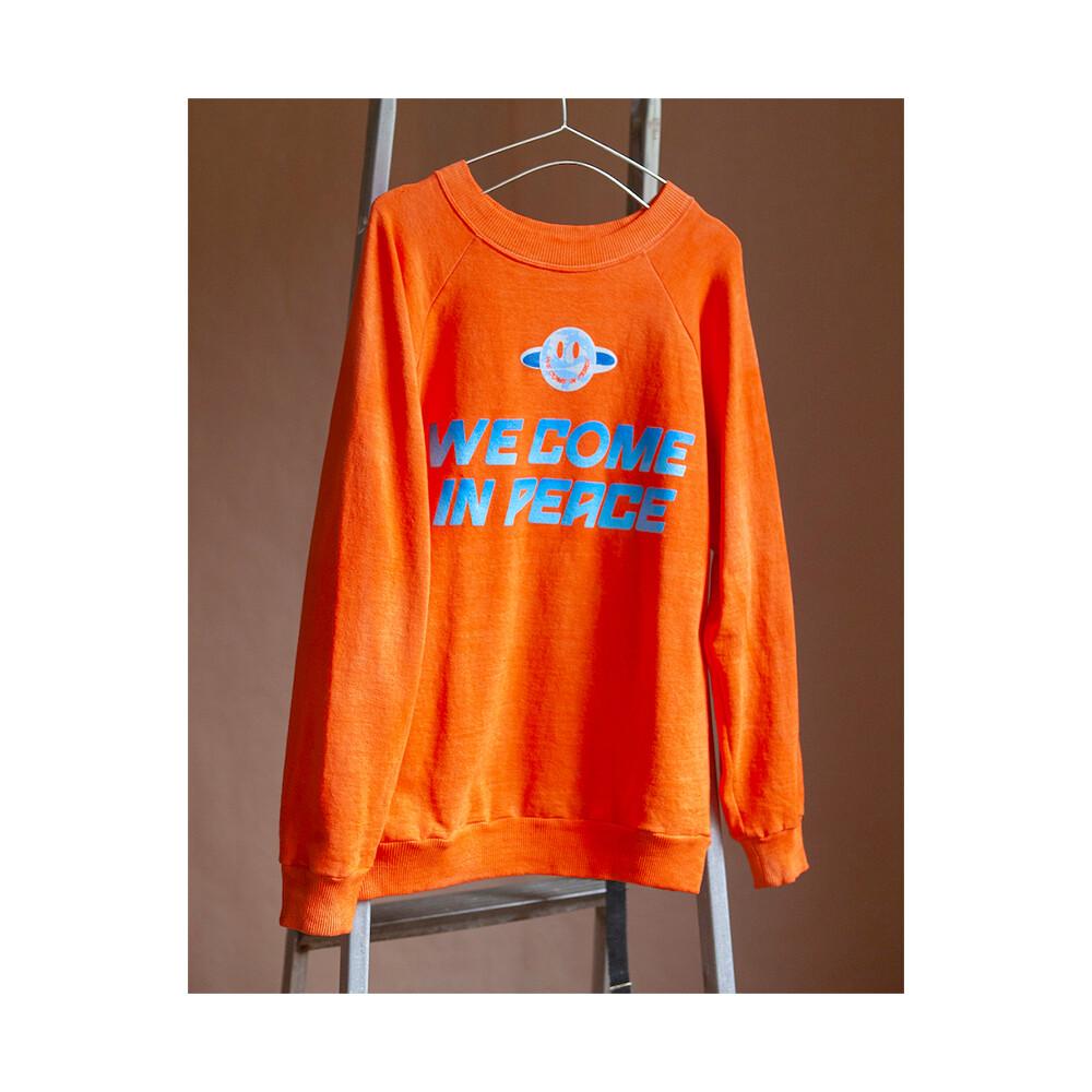W'MENSWEAR 'We Come in Peace' Sweatshirt