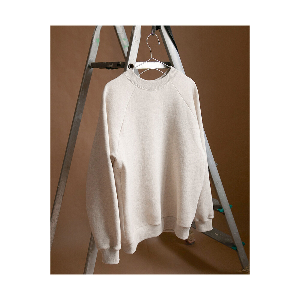 W'MENSWEAR Sweatshirt in Oatmeal