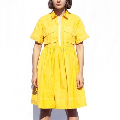 W'MENSWEAR FIELD DRESS IN SAFETY YELLOW