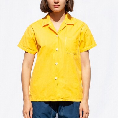 W'MENSWEAR RESEARCH SHIRT IN SAFETY YELLOW