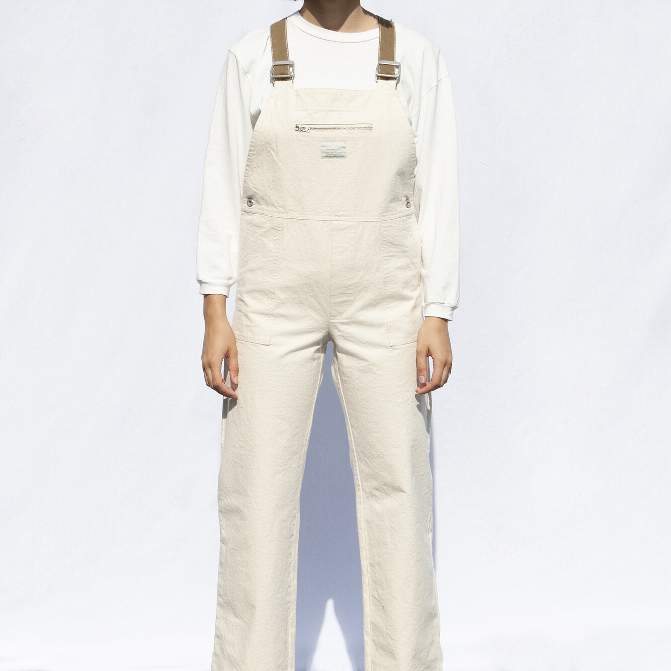 W'MENSWEAR RESEARCH DUNGAREE IN VINTAGE CANVAS