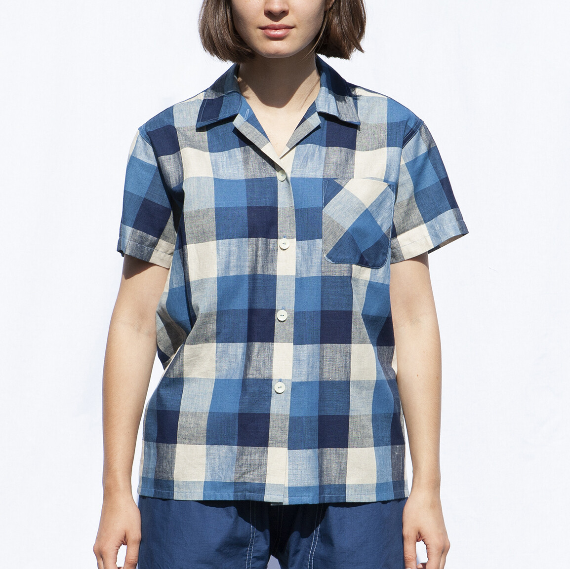 W'MENSWEAR RESEARCH SHIRT IN CHECK