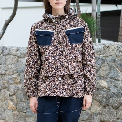 W'MENSWEAR LIMITED EDITION VOYAGE PARKA IN PAISLEY