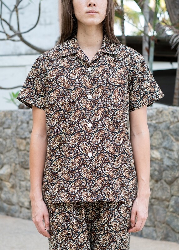 W'MENSWEAR LIMITED EDITION RESEARCH SHIRT IN PAISLEY
