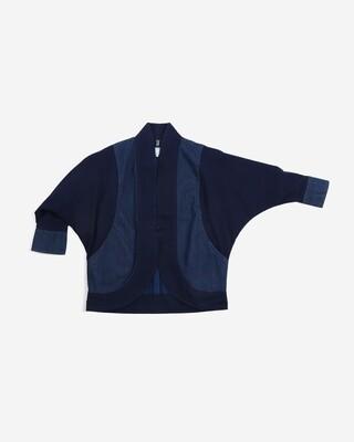 W'MENSWEAR Paddy Cloak in Indigo