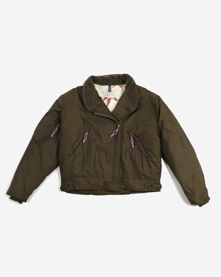 W'MENSWEAR Cat Flight Jacket