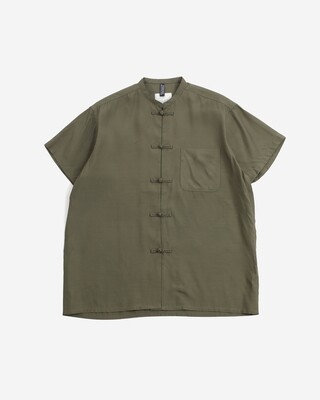 W'MENSWEAR PADDY SHIRT IN GREEN