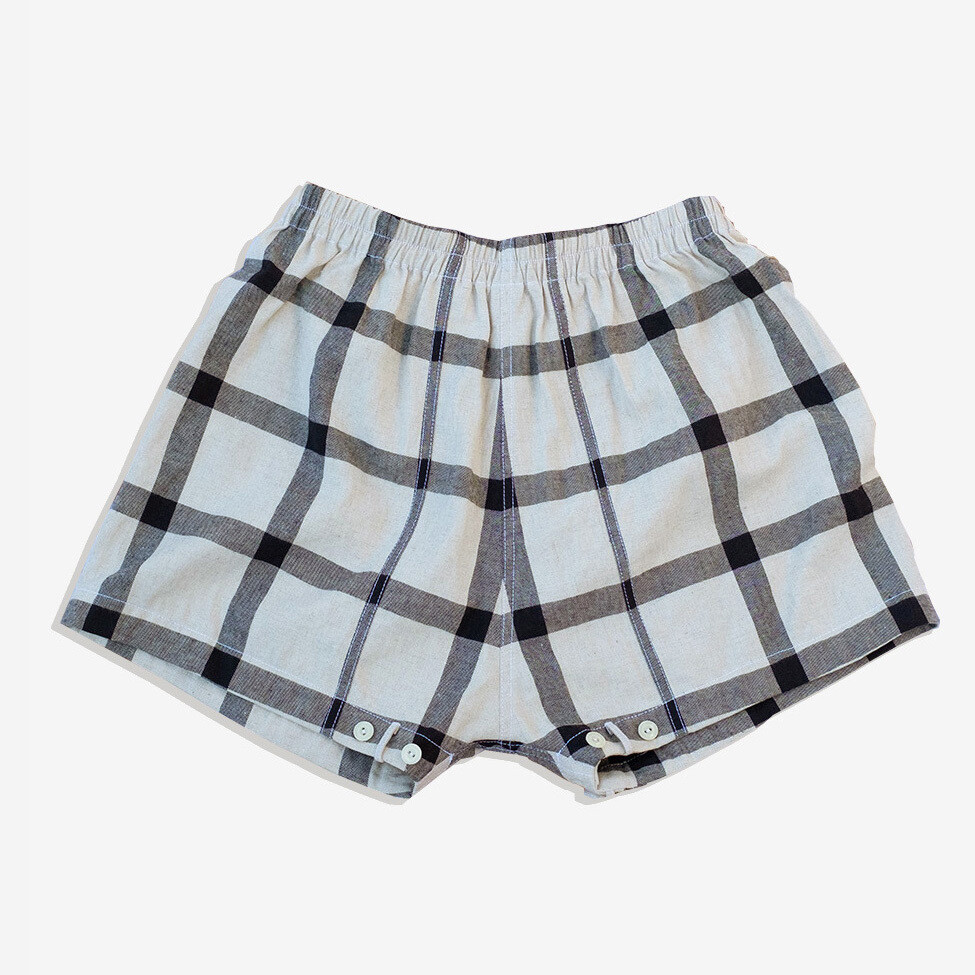 W'menswear Mess Shorts in Check