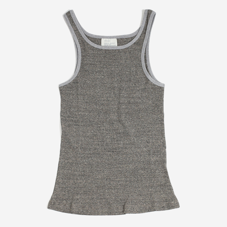 W'menswear Combat Tank in Grey
