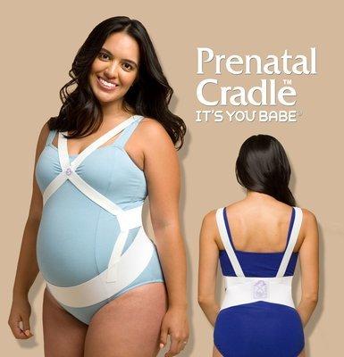 PRENATAL CRADLE, PREGNANCY MATERNITY BELT BACK AND BELLY BAND