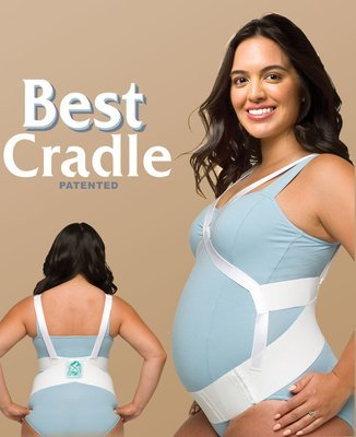 Its You Babe BEST CRADLE maternity support belt. Adjustable  Prenatal Cradle is a doctor recommended belly cradle for pregnancy. Best antepartum belt. Faja de soporte para embarazadas