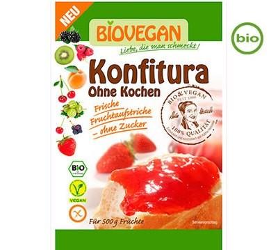 BioVegan Konfitura, jam making kit, without Cooking 18g