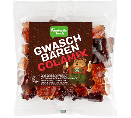 Gummy Bears (Fruit Grizzlies) - Cola and Orange-Cola 150g! -with Fresh Fruit Juice